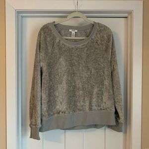 Alfani crew neck lounge sweater